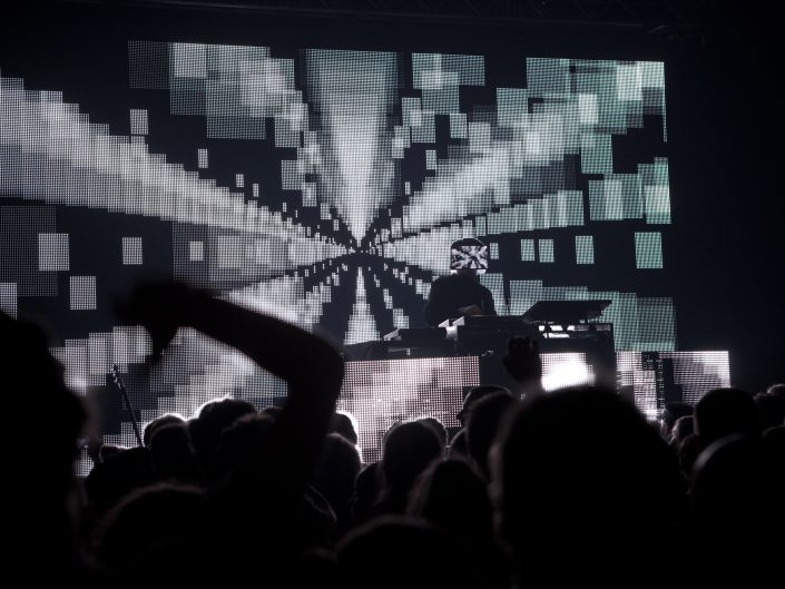 Squarepusher at Bataclan 2012 by Rith Banney